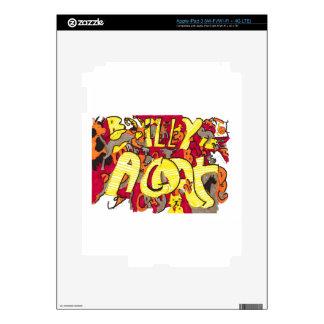 """Billy is a Goat"" iPad 3 (Wi-Fi/Wi-Fi + 4G LTE) iPad 3 Decal"