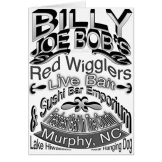 Billy Joe Bob's Emporium Card