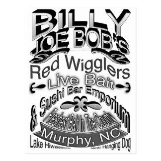 Billy Joe Bob's Emporium Postcard