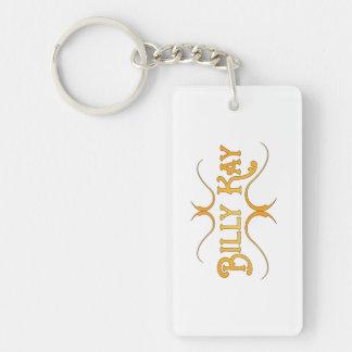 Billy Kay Yellow Logo Acrylic Keychains