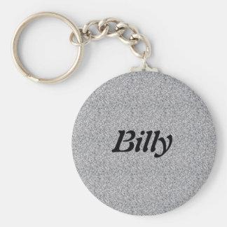 Billy Basic Round Button Keychain