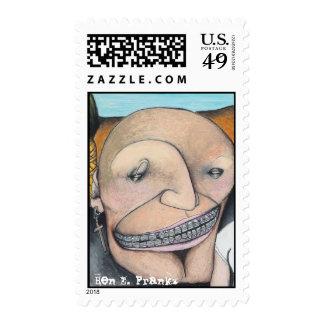 Billy Knows BenEFrankz postage stamps