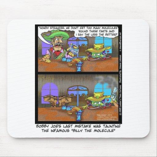 Billy las tarjetas divertidas etc de las camisetas alfombrilla de raton