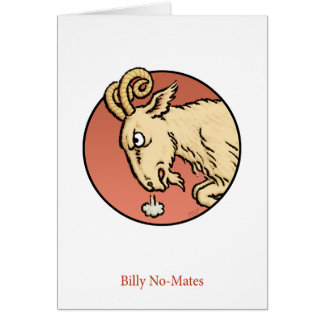 Billy No-Mates Card