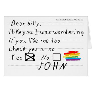 Billy Notecard