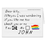 Billy Notecard Stationery Note Card