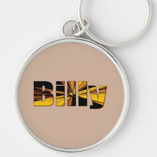 Billy Round Keychain