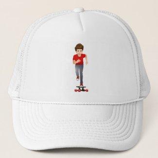 Billy Shredding Trucker Hat