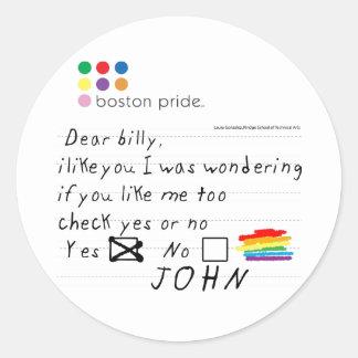 Billy Sticker Large