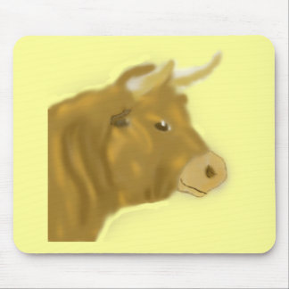 Billy the Bull Mouse Pad