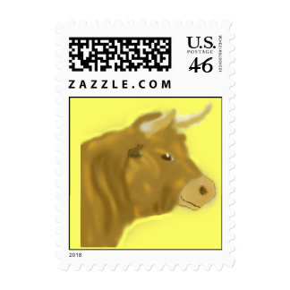 Billy the Bull Postage Stamps