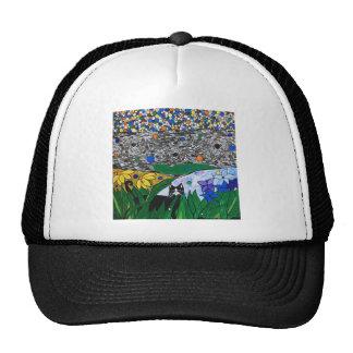 billy the cat and his secret garden trucker hat