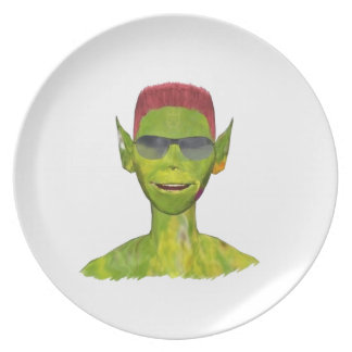 Billy the extraterrestrial-Billy the extraterrestr Dinner Plates