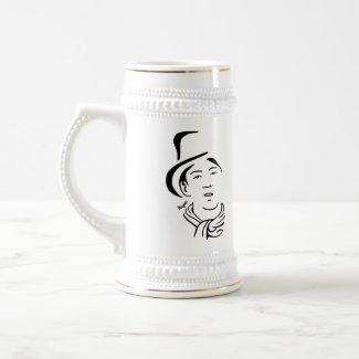 Billy The Kid Beer Stein