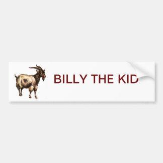 BILLY THE KID CAR BUMPER STICKER