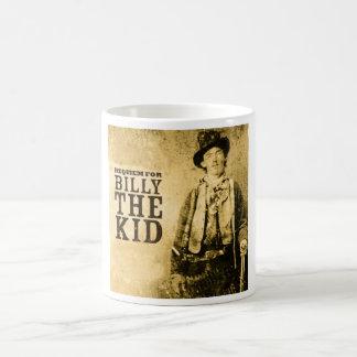 billy the kid classic white coffee mug