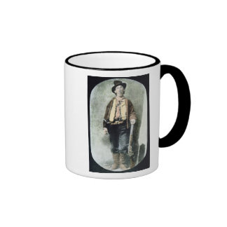 Billy the Kid (coloured engraving) Mugs