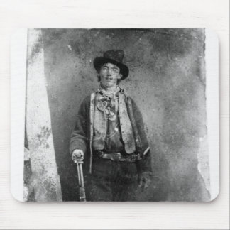 billy the kid mouse pad