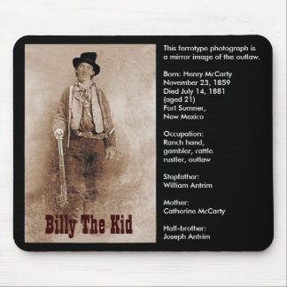 Billy The Kid (Mousepad)