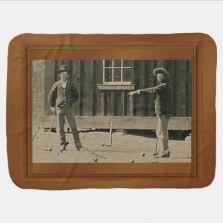 Billy The Kid New Evidence Photo Receiving Blanket