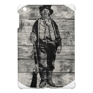 Billy The Kid on Wood Case For The iPad Mini