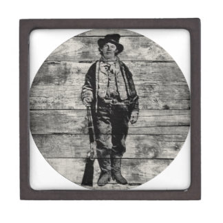 Billy The Kid on Wood Gift Box