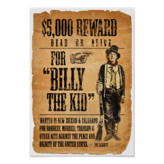 Billy the Kid Posters