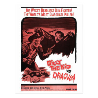 Billy the Kid Vs. Dracula Postcard