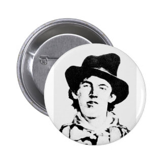 Billy The Kid ~ William H. Bonney / Outlaw Button
