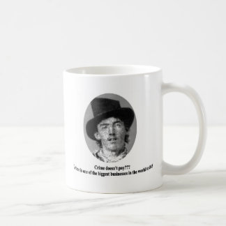 Billy The Kid with Quote Mug