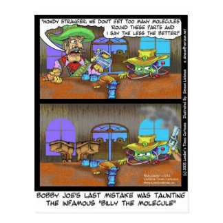 Billy The Molecule Funny Gifts Tees Cards Etc