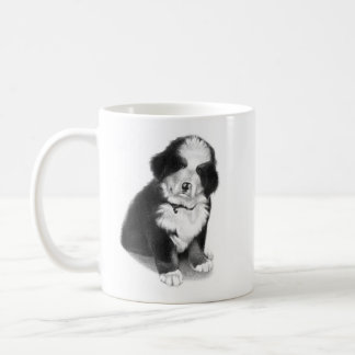 Billy the pound puppy Bernese Mountain Dog Coffee Mug