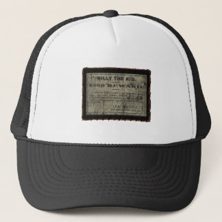 Billy The Wanted Poster Trucker Hat