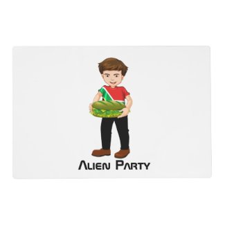Billy's Alien Party Placemat