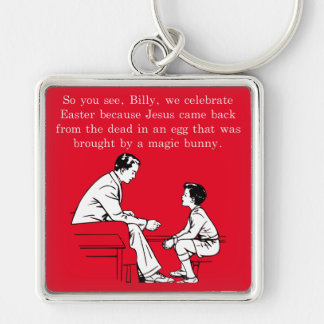 Billy's Easter Lesson Keychain