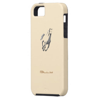 Billy's iphone 5 Horse cover in brown iPhone 5 Cases