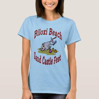 Biloxi Beach Sand Castle Fest T-Shirt