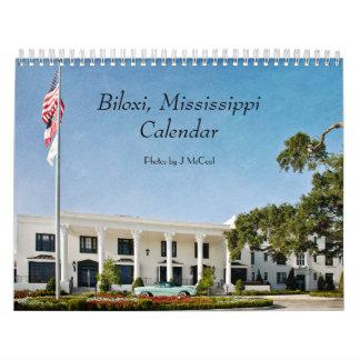 Biloxi, calendario de Mississippi