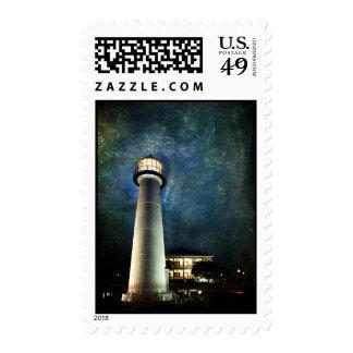 Biloxi Lighthous & Visitors Center Stamp