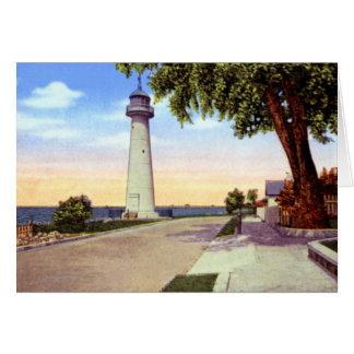 Biloxi Mississippi City of Biloxi Lighthouse Cards