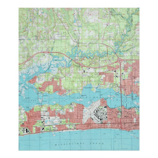 Mississippi Map Posters Zazzle - Missisippi map