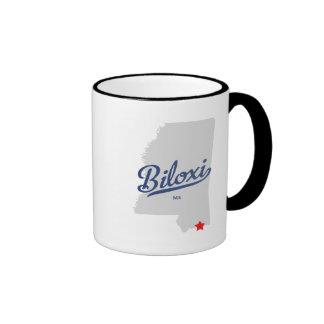 Biloxi Mississippi MS Shirt Mugs