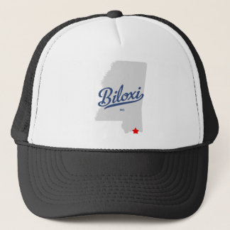 Biloxi Mississippi MS Shirt Trucker Hat