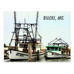 Biloxi, ms Postcard Postales