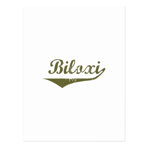 Biloxi Revolution tee shirts Post Cards