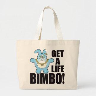 Bimbo Bad Bun Life Jumbo Tote Bag
