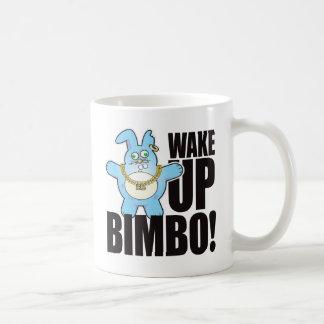 Bimbo Bad Bun Wake Coffee Mug