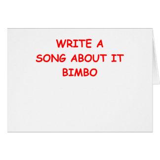 BIMBO CARDS