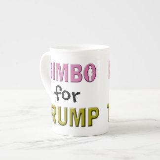 Bimbo for Trump Tea Cup