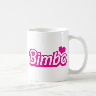 Bimbo pretty little dolly font coffee mug